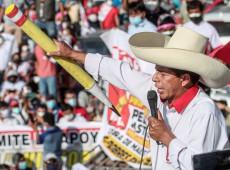 No Peru, elite não quer aceitar vitória do professor camponês Pedro Castillo à presidência da República