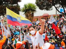 Equador: pesquisas indicam empate técnico entre Andrés Arauz e Guillermo Lasso
