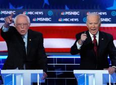 Apesar de proliferação do coronavírus, disputa entre Sanders e Biden continua nos EUA