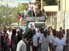 Séculos de luta não serão sufocados. Haiti vai se reerguer em seu caminho para a liberdade!