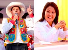 Peru: Castillo e Keiko se consolidam na liderança e preparam disputa no 2º turno