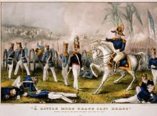 Hoje na História: 1847 - Começa a Batalha de Buena Vista, parte da guerra entre México e EUA