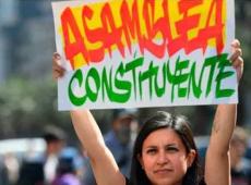 Chile pide Asamblea Constituyente y el gobierno de Sebastián Piñera la descarta