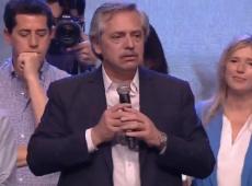 Fernández agradece a Néstor Kirchner e diz que tempos que vêm 'não serão fáceis'