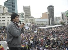 Denúncias de fraude são pretexto para golpe, diz Evo Morales