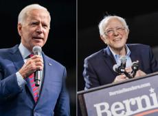 EUA: Sanders e Biden cancelam comícios por causa do coronavírus