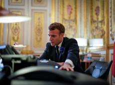 Depender da soja brasileira é endossar desmatamento, diz Macron