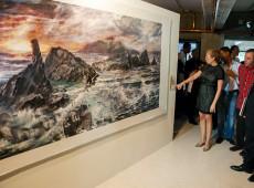 Com a participação de 127 artistas de 26 países, Bienal do Sul estreia na Venezuela com obra de Ilka Corado
