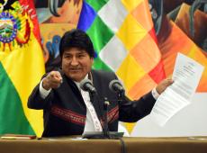 Evo Morales: 'Já ganhamos no primeiro turno'