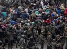 Guatemala: Ação brutal da polícia e do Exército reprime migrantes com destino aos EUA