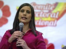 Por desespero, direita peruana busca sabotar Verónica Mendoza a qualquer preço