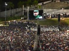 Mais de 2 mi de pessoas lotam praça da Revolução, em Havana, para se despedir de Fidel