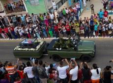 Cinzas de Fidel saem de Camaguey em última etapa de cortejo; enterro acontece domingo em Santiago