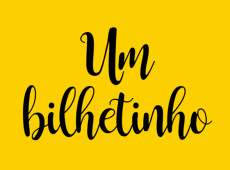 """Um """"bilhetinho"""" de Ceci Juruá para seus amigos  e amigas e leitores de Diálogos do Sul"""