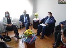 Arce se reúne com observadores e manifesta preocupação com transparência eleitoral na Bolívia