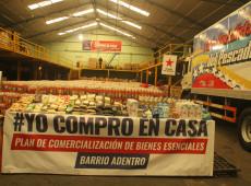 Venezuela adota plano de distribuição de alimentos em casa durante pandemia