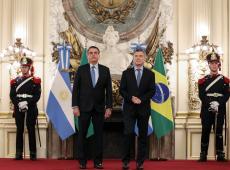 Na Argentina, Bolsonaro ignora crise e defende acordo com UE