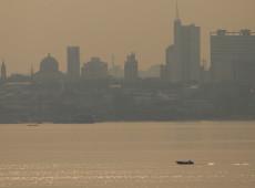 Após blecaute, fumaça das queimadas na Amazônia encobrem Manaus por vários dias