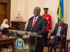 Negacionista da covid-19, presidente da Tanzânia morre aos 61 anos