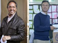 Daniel Scioli e Mauricio Macri vão disputar segundo turno inédito na Argentina