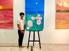 Pintor vietnamita de 14 anos doa lucro obtido com telas a hospitais para combater covid-19