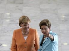 Dilma e Merkel: parceria estreita em momentos de desgaste