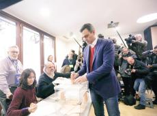 Espanhóis vão às urnas para tentar destravar impasse político