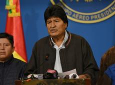 Evo Morales diz que sobreviveu a atentado durante viagem de helicóptero