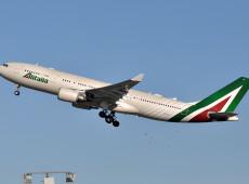 Itália: Sob intervenção do governo há 3 anos, companhia aérea Alitalia será reestatizada