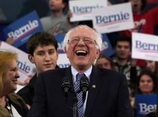 Sanders ganha força como líder democrata ao consolidar primeiro lugar em New Hampshire