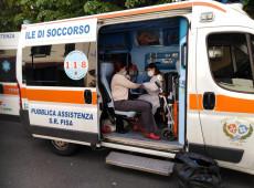 Covid-19: pela 1ª vez em dois meses, Itália registra menos de 100 mortes por dia