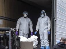 Covid-19 en Nueva York: conmoción por la aparición de centenar de cuerpos en camiones
