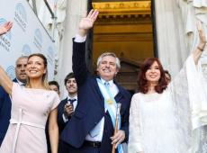 Fernández define como prioridade do governo combater fome e desemprego na Argentina