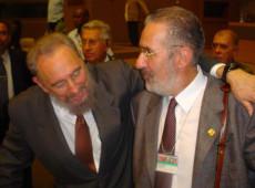 O último encontro de Fidel Castro