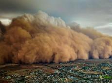 Não é fato isolado. Tempestade de areia no interior de SP é efeito da degradação ambiental