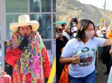 Peru: Em pesquisa do 2º turno, Castillo abre 15 pontos de vantagem sobre Keiko Fujimori