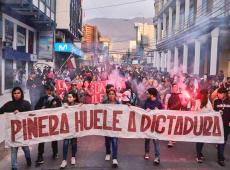 Ano de 2019 finaliza com manifestações e violenta repressão policial no Chile de Piñera