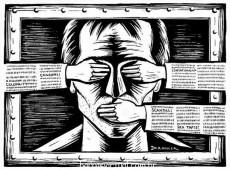 Ordem da cúpula do poder é manter imprensa silenciada para impedir protestos contra abusos no meio político