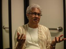 Patricia Collins: 'Os EUA têm instituições democráticas, mas não têm uma democracia'