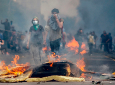 ¿Cuál es el contexto social que desencadenó la ola histórica de protestas en Chile?