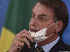 Bolsonaro usa pesquisa alemã distorcida para criticar uso de máscaras