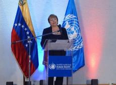 Bachelet: Sanções econômicas impostas pelos EUA agravam crise na Venezuela