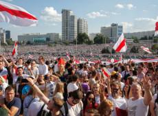 Bielorrusia: 200.000 personas piden la dimisión del presidente Aleksandr Lukashenko