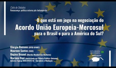 O que está em jogo na negociação do Acordo UE-Mercosul para a América do Sul?