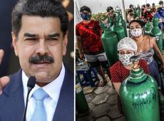 Após ajudar Amazonas, governo Maduro anuncia envio de oxigênio para o Amapá