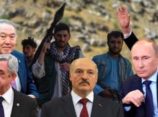 Aliados da Rússia aprovam declaração que impede bases dos EUA contra Afeganistão