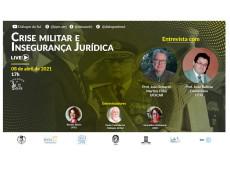 Segunda temporada do Diálogos em Sul Maior abordará crise militar, bolsonarismo e insegurança jurídica