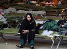 Resgatados pelos EUA, afegãos aguardam em outros países