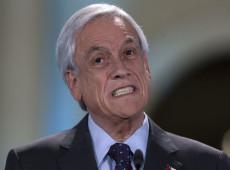 """Piñera admite """"erros"""" no manejo da pandemia no Chile, mas culpa estudos """"pouco precisos"""""""