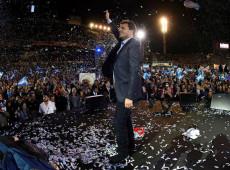 Argentina: Votos dados a Massa vão decidir 2º turno entre Scioli e Macri, diz sociólogo